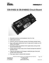 CB016 Control Card